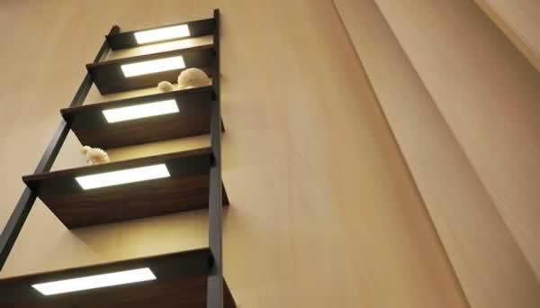 OLED light furniture application